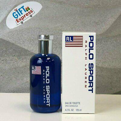 Polo Sport 4.2 Oz Eau De Toilette Spray By Ralph Lauren New In Box For Men