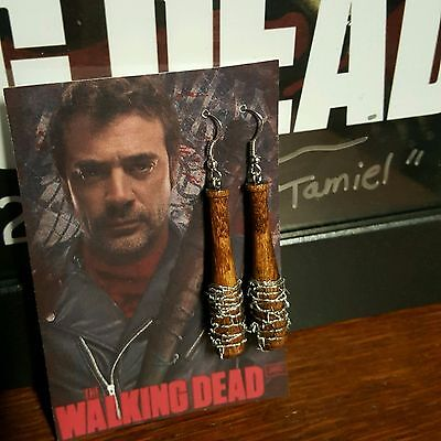 Negan Lucille Bat Prop/Replica ***Earrings*** ~~The Walking Dead~~***NEW***