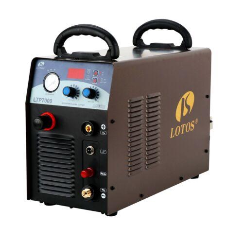 "Plasma Cutter Pilot Arc 70Amp Lotos LTP7000 50/60Hz Cuts 7/8"" Dirty Rough Metal"