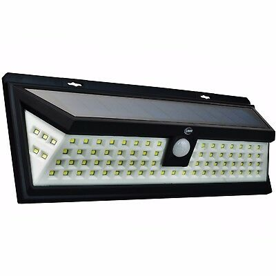 90 LED Solar Security Light Dusk to Dawn | BRIGHT Outdoor Motion Sensor Lighting