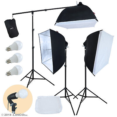 Linco Lincostore Studio Lighting Photography Portrait Softbox Light Kit AM246 Lighting Photography Kit