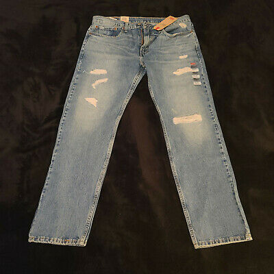 New With Tags Levi's 502 34 X 32 Regular Taper Jeans