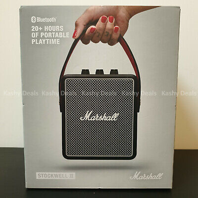 MARSHALL Stockwell II Portable Bluetooth Speaker - Black - NEW & SEALED