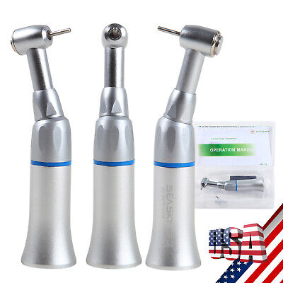Nsk Style Dental Low Speed Handpiece Push Contra Angle Fit Fg Burs 1.6mm E-type