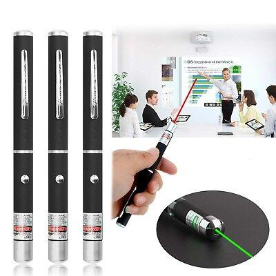 Neue 3 Stück Laserpointer Beam Light Rot + Grün + Lila Leistungsstarker Lazer Neue 3