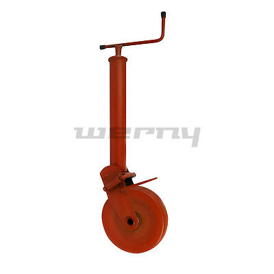 Simol Stützrad Stützfuß Anhänger 1500 kg Stützlast halbautomatisch mit Feder
