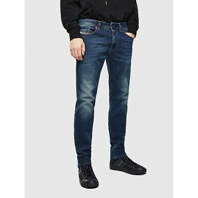 Diesel Thommer Slim Skinny Jeans Stretch Denim Dark Wash Mens 32x32