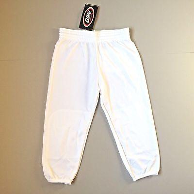 Q Franklin Baseball Softball Pants Deluxe Youth XL X-Large Waist 28-30 Gray