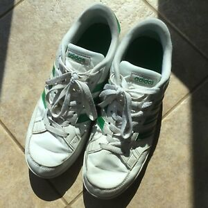 Youth's adidas leather shoes size 8