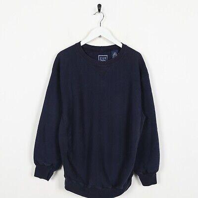 Vintage GAP Sweatshirt Jumper Navy Blue | Small S