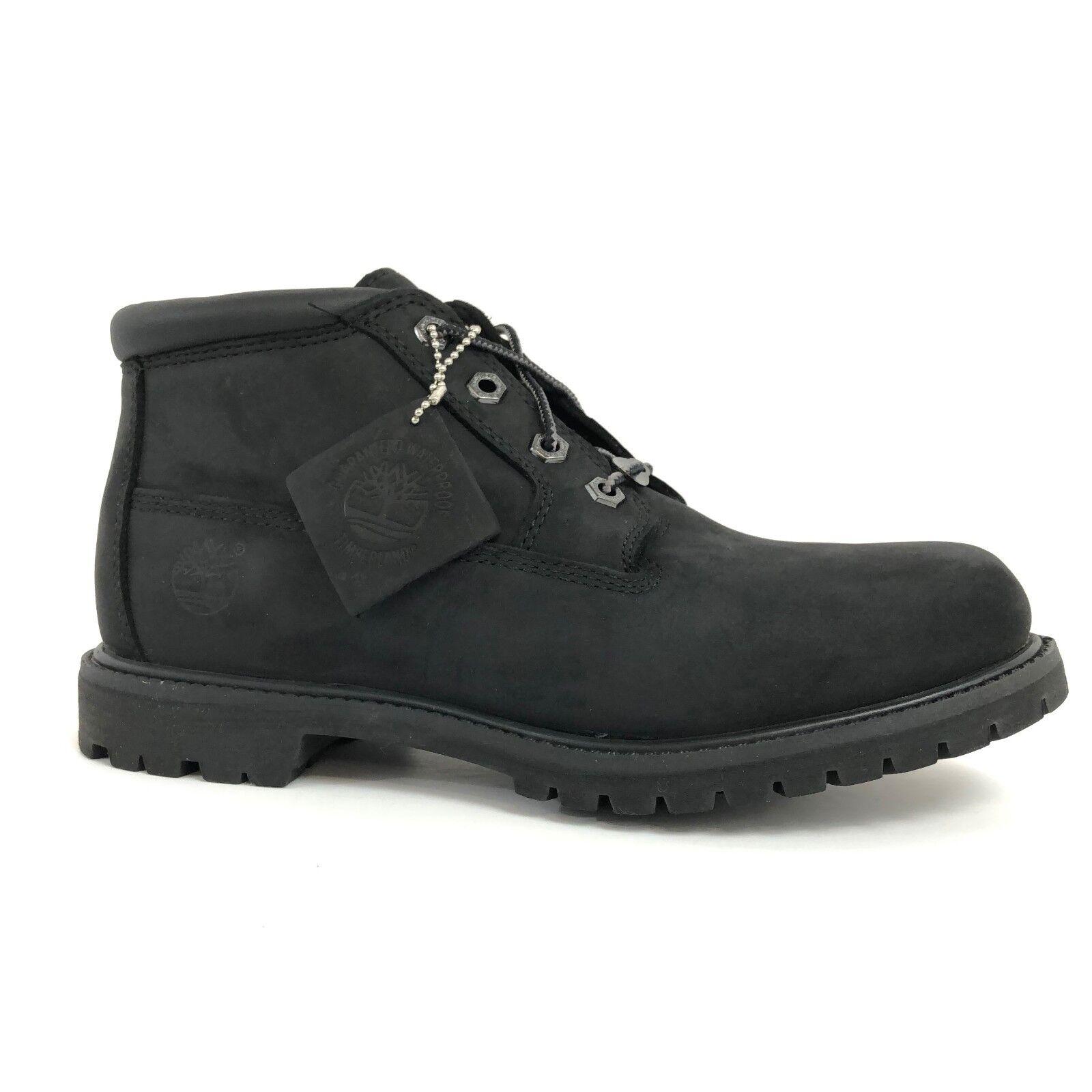Timberland Women's Waterproof Nellie Chukka Double Black Boots 23398