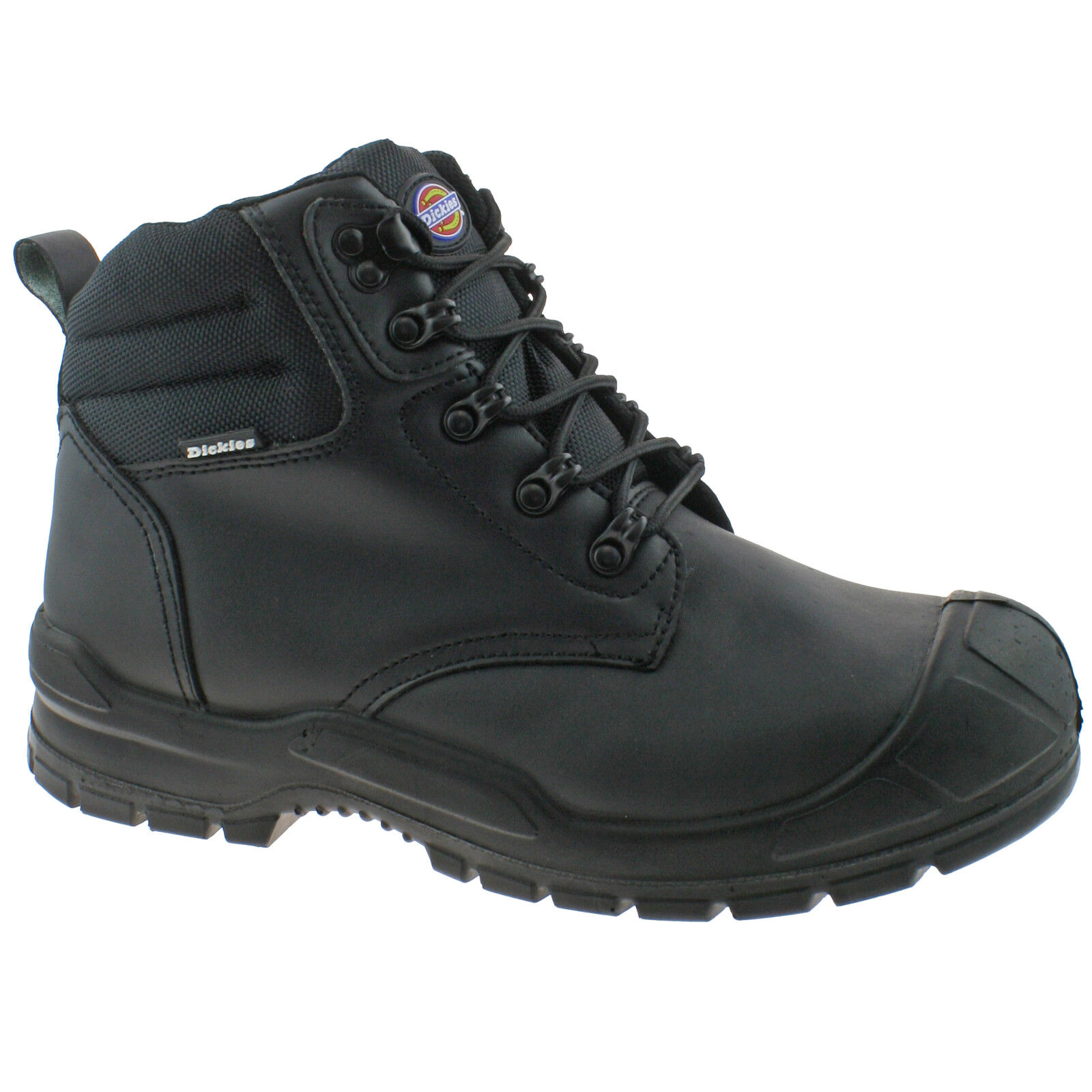 3745682a7de Details about MENS DICKIES TRENTON SAFETY BOOTS SIZE UK 3 - 14 BLACK FA9007