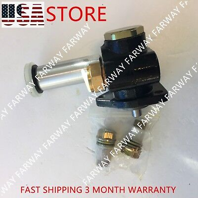 New Cat 3 Holes Fuel Feed Pump Fit For Caterpillar E320c Excavator