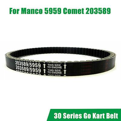 Go-Kart Drive Belt For 30 Series Replaces Manco 5959 /& Comet 203589 KEVLAR 4I28
