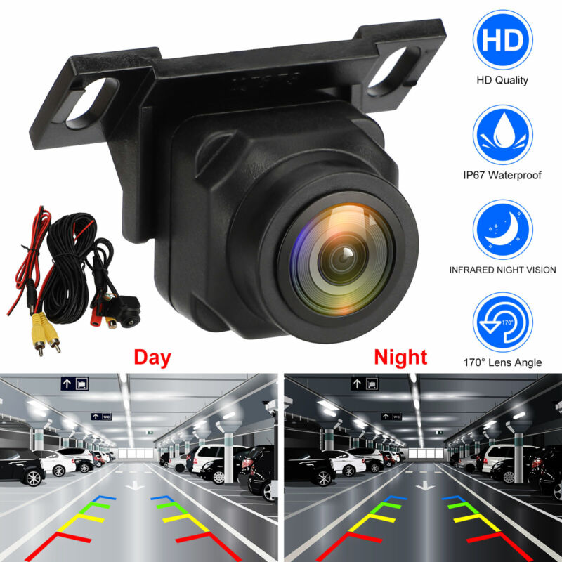 170º Car Auto Rear View Reverse Backup Parking Camera Waterproof Night Vision HD