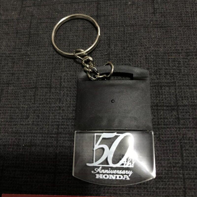 Honda 50th Anniversary Light Up Keychain Rare Civic Accord Prelude NSX 1998 JDM
