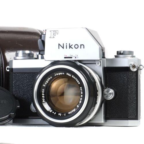 ":[MINT-] Nikon F Photomic 35mm Camera w Nikkor-S 50mm f1.4 Lens + Case ""EP"" Mark"