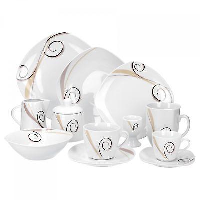 tafelservice kaffeeservice von kahla porzellan ddr perlmut rose kanvult. Black Bedroom Furniture Sets. Home Design Ideas
