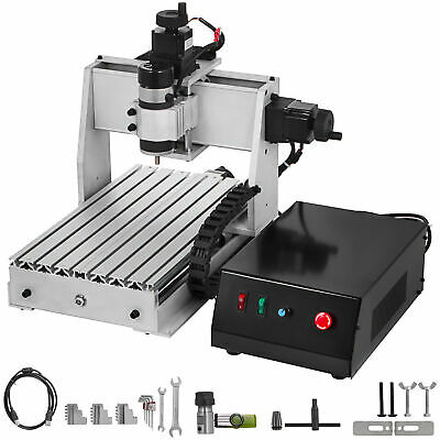 3 Axis Cnc Router Kit 3020 3d Milling Engraving Machine 500w Woodplastic Us
