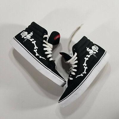 Vans Sk8-Hi 2017 Peanuts Snoopy Bones/Black Mens US 10.5 EUR 44 Suede Leather