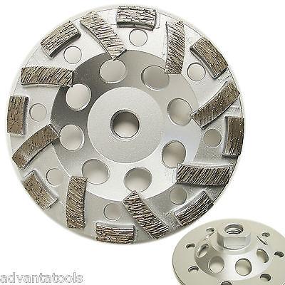 4.5 Turbo Diamond Cup Wheel For Concrete Stone Masonry Grinding 58-11 Arbor