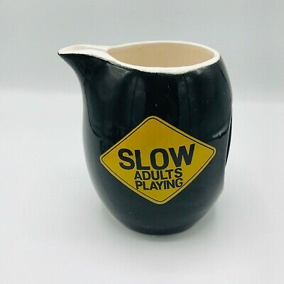 Mid Century Modern Slow Adults Playing Pitcher 6