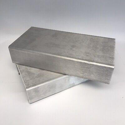 1 One Usa Aluminum Project Box. C Shape For Combo Guitar Amp Build. 12l X 6w