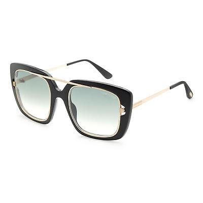 Tom Ford Women's Marissa FT0619-01B 52 Gradient Smoke Lens (Ladies Tom Ford Sunglasses)