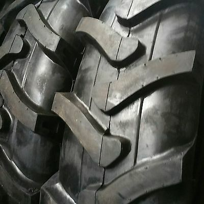 2-tires 14.9-24 10 Ply R1 Rear Backhoe Industrial Tractor Tirestubes 14.9x24