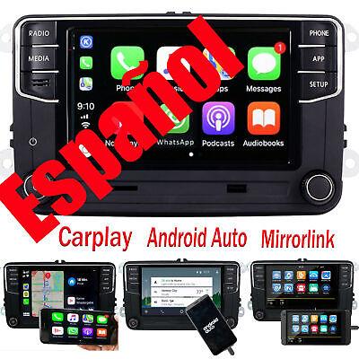 Carplay Android Auto Autoradio RCD360 Para VW Golf  Passat Polo Caddy CC Español