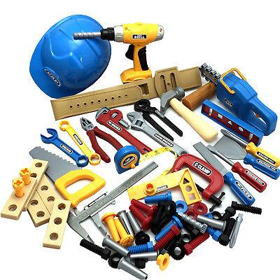 70 teiliges Werkzeugset Werkzeug Kinderwerkzeug Akkuschrauber