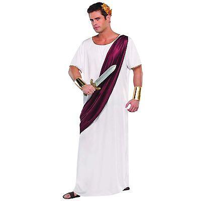 Herren Julius Cäsar Kostüm Toga Griechisch Römisch Erwachsene Kaiser-Kostüm