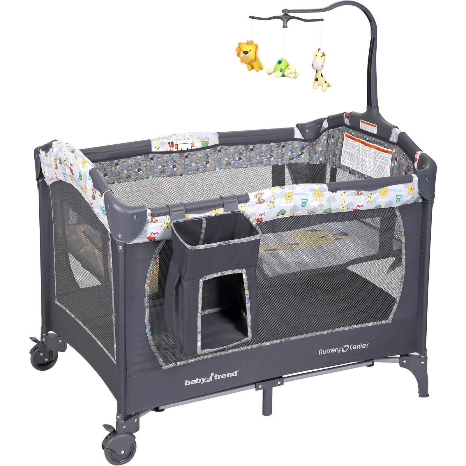 Baby Nursery Bassinet Infant Crib Portable Cradle Newborn Sl