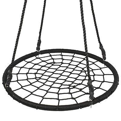 40″ Kids Spider Web Tree Net Swing Set Playground Indoor Patio Detachable EZ Set Outdoor Toys & Structures
