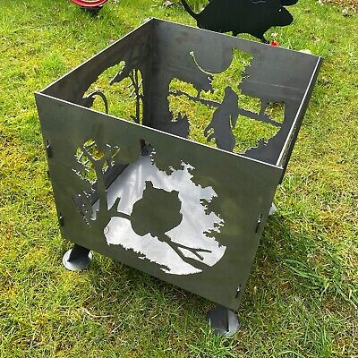 FIRE PIT – ANIMAL DESIGN 450mm SQ