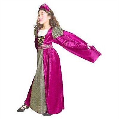 Hyde & Eek Girl's Medevil Princess Dress Up Costume Child Halloween Sizes S M L (Medevil Dresses)