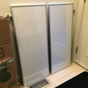 IKEA Morliden glass door x 2, for Billy bookcase