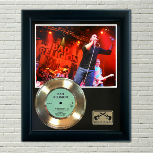 "Bad Religion ""American Jesus"" Framed Record Display"