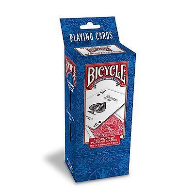 Bicycle Rider Back Poker Playing Cards - 1 Dozen