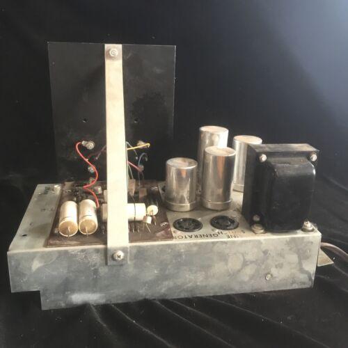 Wurlitzer Organ Tone Cab Tube Amplifier Model 4040 Tested - $65.00