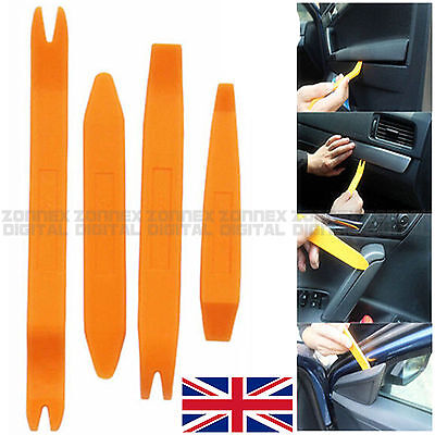 4x Professional Pry Tool Kit Set Interior Trim Panel Removal Tool for HONDA
