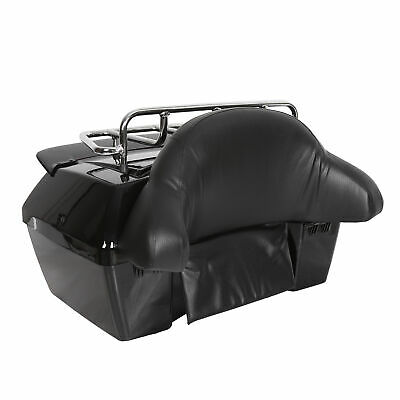 Motorcycle Tour Pack Trunk Tail Luggage Box W/ Tail Light & Top rack & Backrest](Cheap Shadow Boxes)
