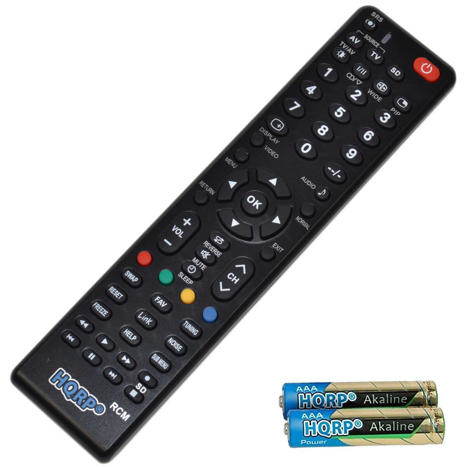 HQRP Remote Control for Panasonic PT TC TH TX Series LCD LED