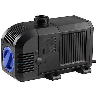 1600 GPH Adjustable Pond Submersible Water Pump Aquarium Fish Powerhead Fountain
