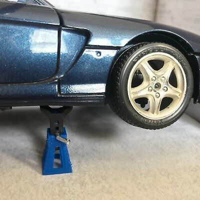 4 x Axle Jack Stands for Diorama Garage / Workshop 1:18 scale Car Model  for sale  Shipping to Ireland