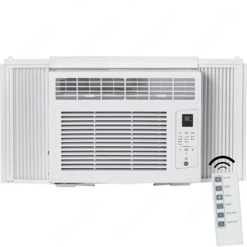 GE 6000 BTU Compact Window Air Conditioner, 250 SqFt Room Cool AC Unit w/ Remote