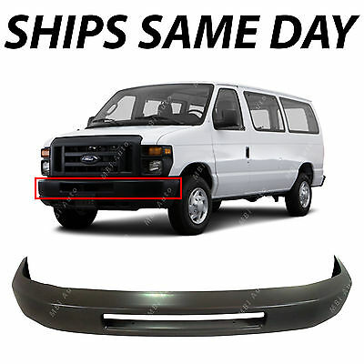 NEW Primered - Steel Front Bumper Face Bar Fascia for 2008-2016 Ford Econoline