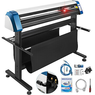 53 Vinyl Cutter Plotter Sign Cutting Laser Pointer Automatic Contour Cut Print