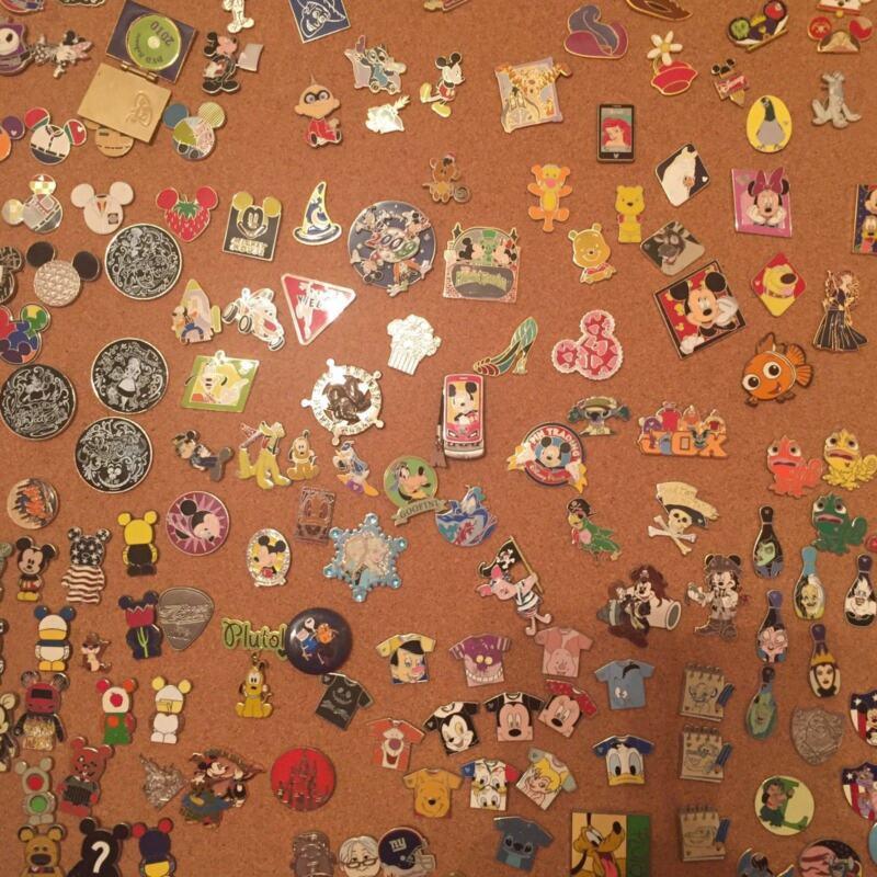 Lot Of 25 Disney Trading Pins  Free Lanyard Us Seller! U Pick Boy Or Girl