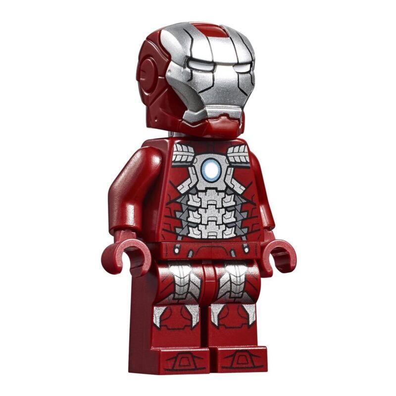 LEGO Marvel Super Heroes Avengers Endgame Iron Man Mark 5 Armor Minifigure